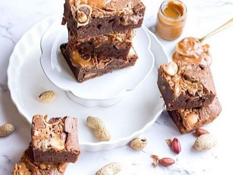 Pinda Chocolade Brownies