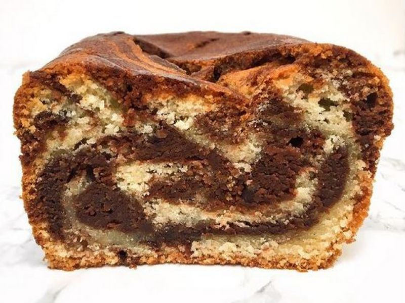 Chocolade marmer Cake
