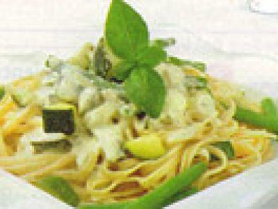 Linguini met groenten