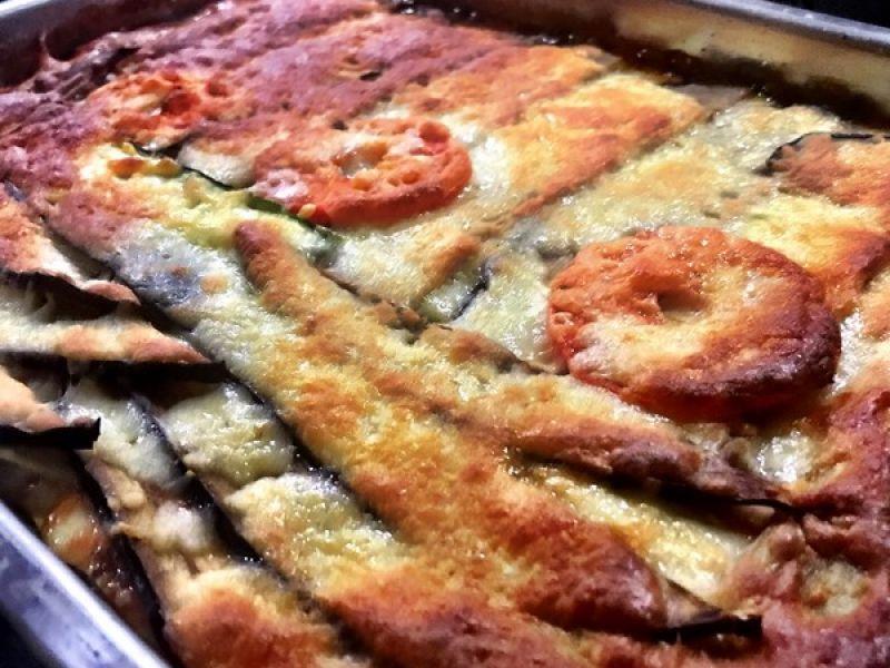 Groentenlasagne met gehakt en mascarpone