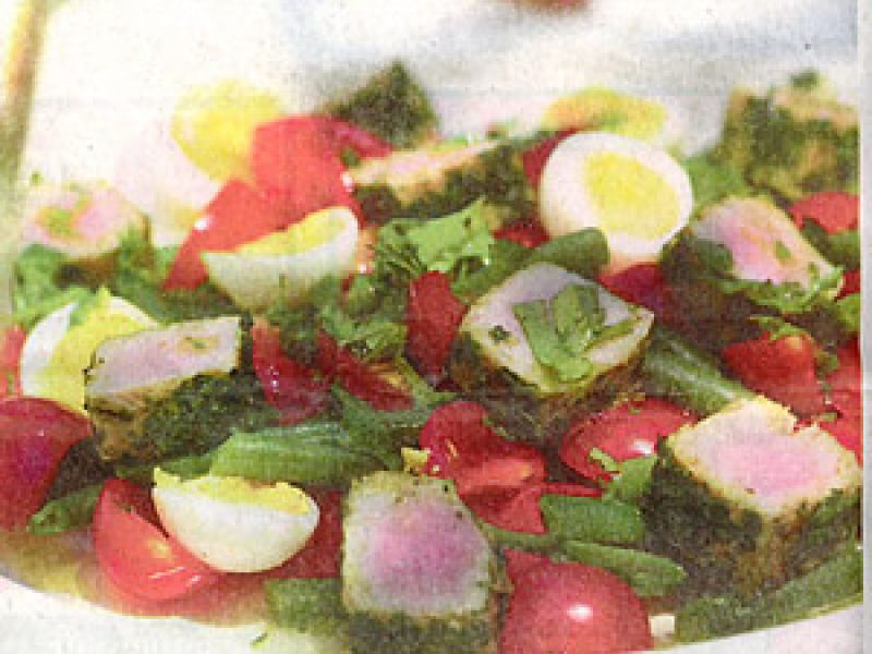 Eigenzinnige salade Niçoise