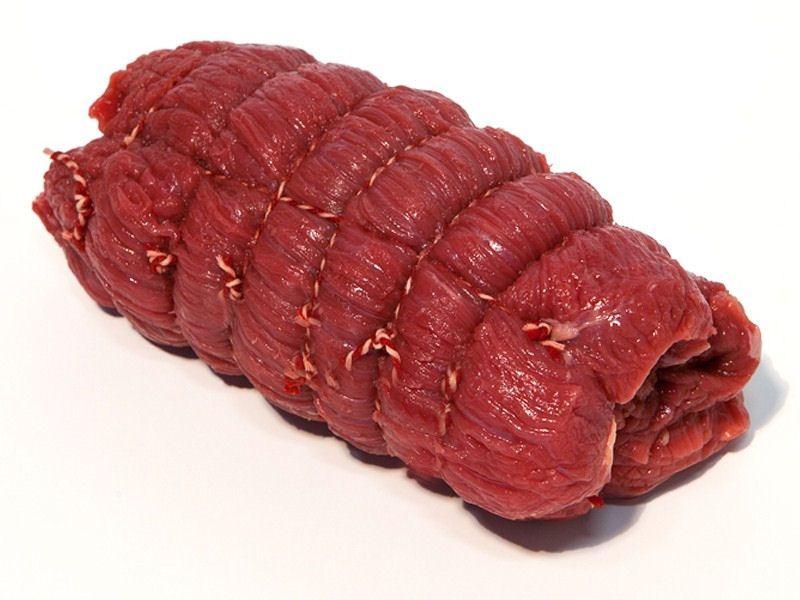 Gyros-rollade op de BBQ
