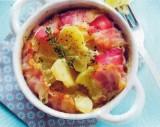 Aardappelkoekjes met spek