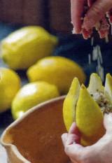 Gepekelde citroen