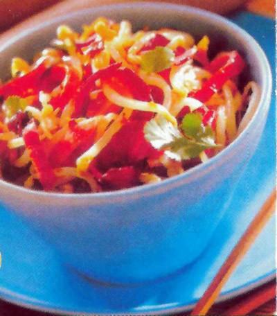 Salade van eend op Vietnamese wijze