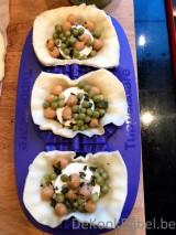 Empanadas met geitenkaas