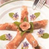 Parmahapjes met mascarpone en vijgen