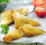 Empanades met kabeljauw en Pesto alla Calabrese