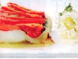 Kabeljauw met tomaten en een zoetzuur preisausje