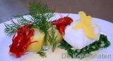 Gepocheerde kabeljauw met citroensaus