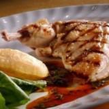 Gegrilde kip met dragon en gepofte aardappel
