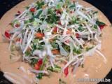 Kip met Tai Pla curry en bamboe