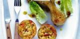 Kippenbout met groententaartjes
