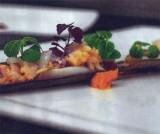 Zeeuwse scheermesjes met oosterschelde kreeft, inktvis en chorizocrème