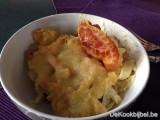 Macaroni 3 kazen en pancetta