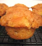 Muffins met appel en banaan