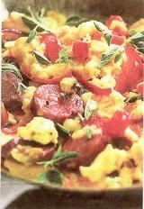 Omelet Chorizo