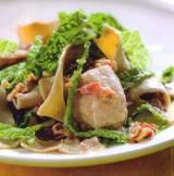 De Kookbijbel - Porcinipasta met savooi en konijn