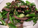 Rundsvlees met groene groenten