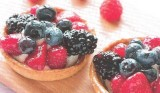 Fruittaartjes met bessen