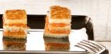 Kubus toastjes met gerookte zalm