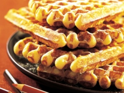 Belgische wafel (Vanille)