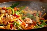 Vegetarische wok