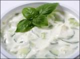 Yoghurt-komkommersaus