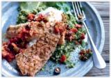 Gegrilde zalm met quinoasalade